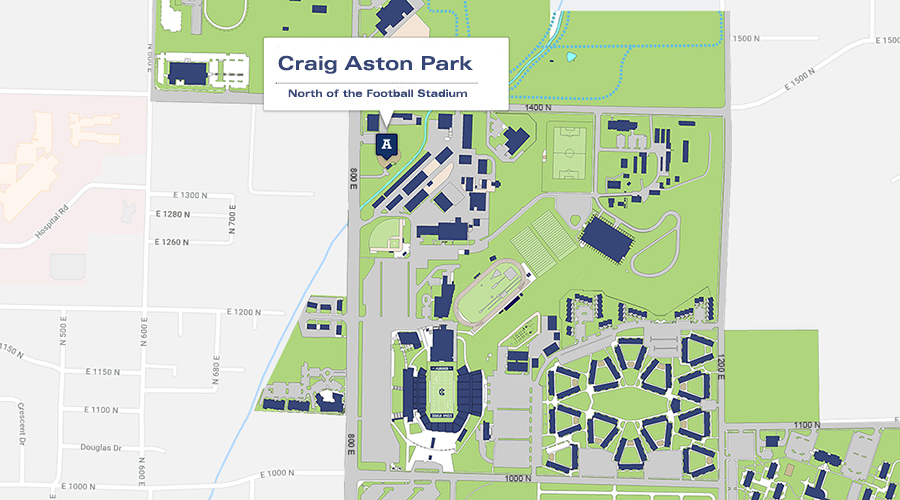 Craig Aston Map