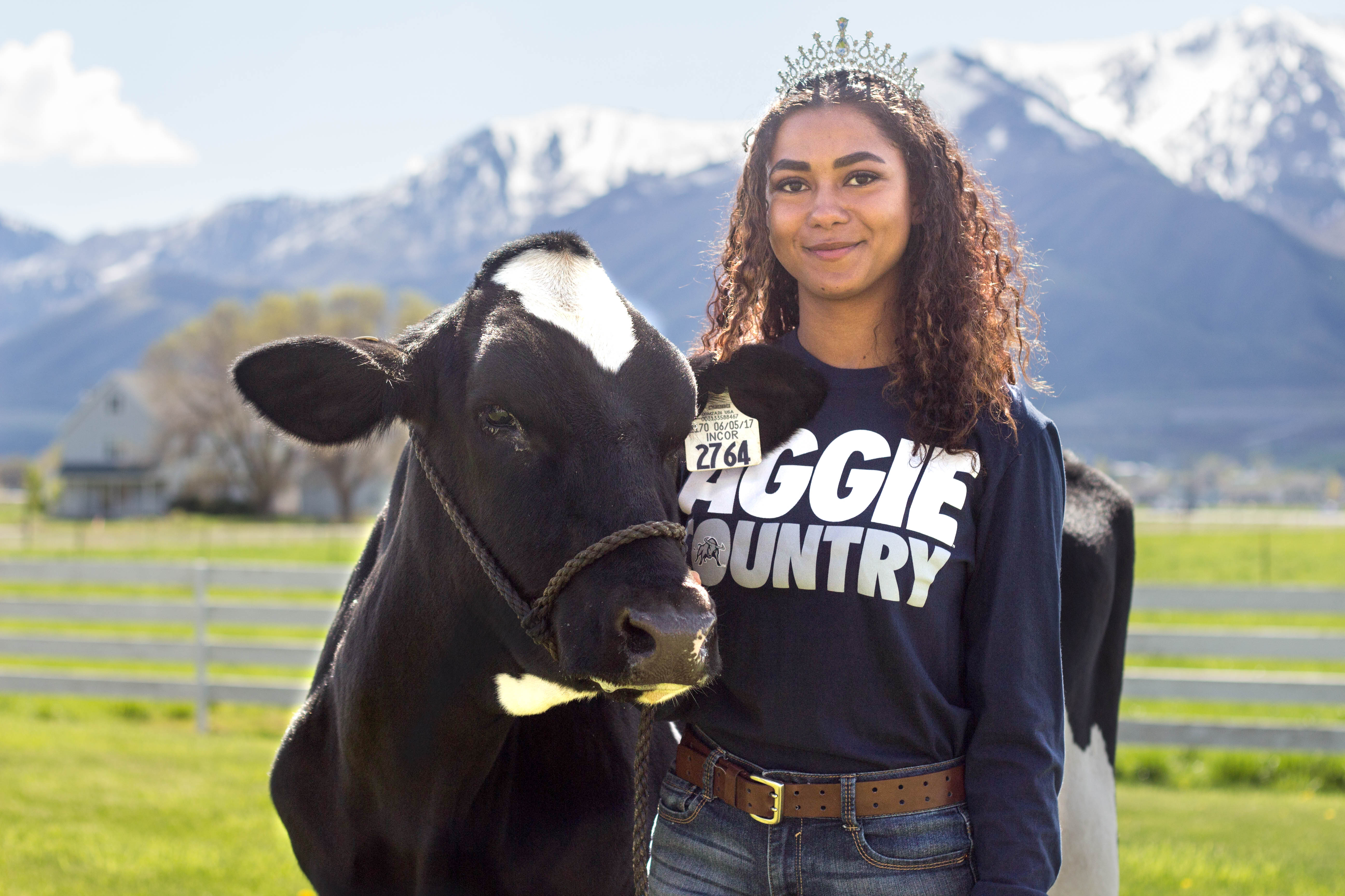"<strong>""WHO AM I?"" </strong><br /> The New Miss USU Tells Her Truth"