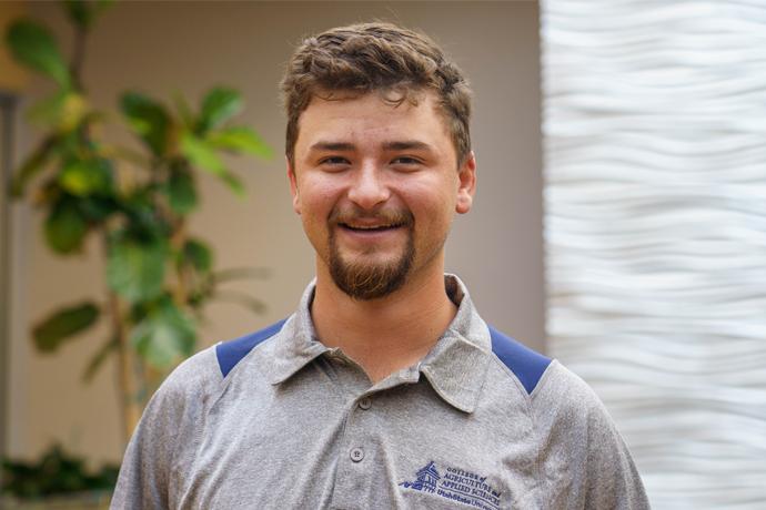 Dalton Gibbs, a love for animals and the USU community