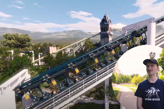 Virtual Roller Coasters on Old Main - Landscape Architecture and Environmental Planning