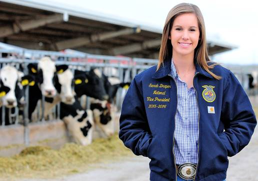 Agricultural Education Student Chosen as National FFA Officer