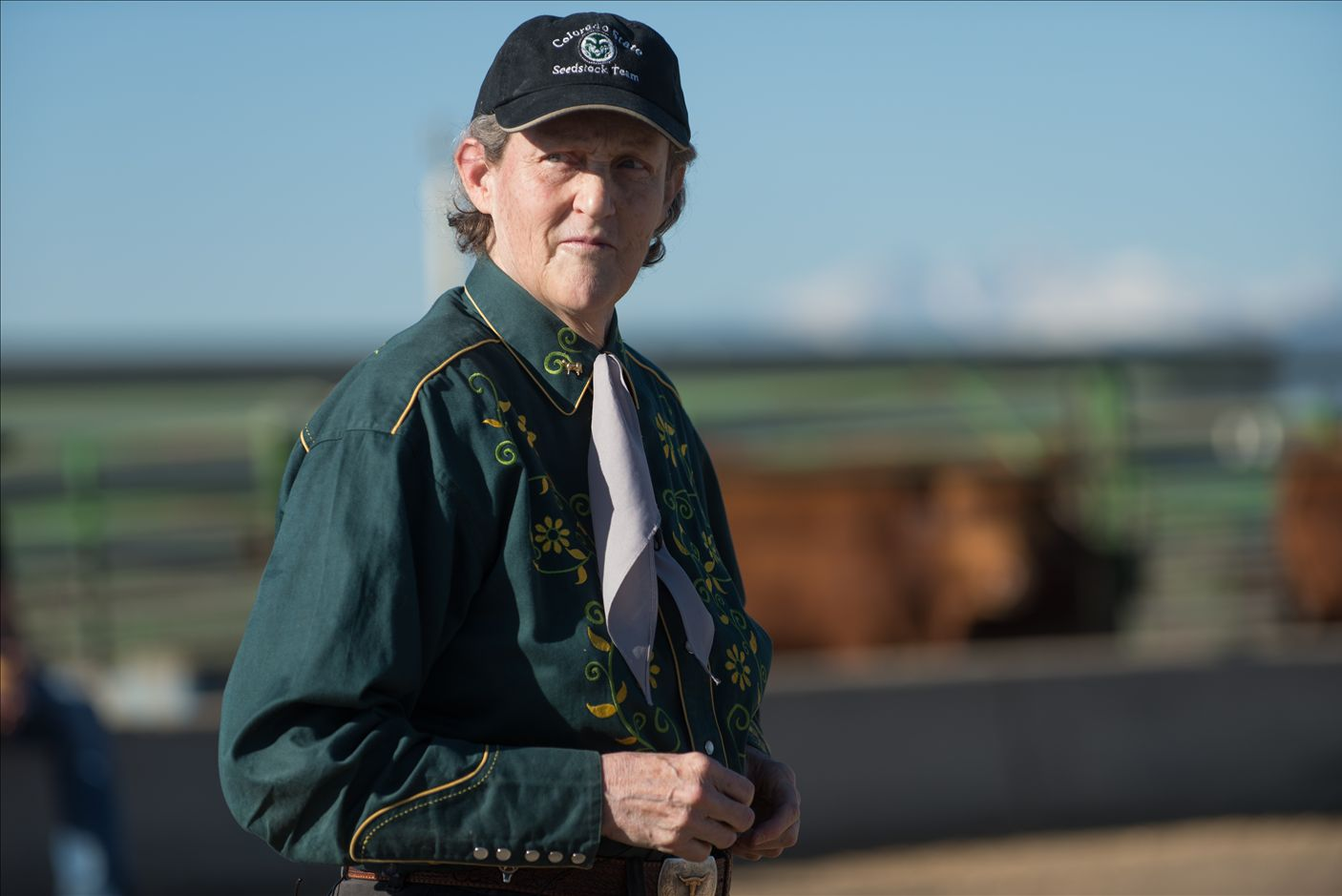 Temple Grandin to Give Lecture at USU on Livestock Handling