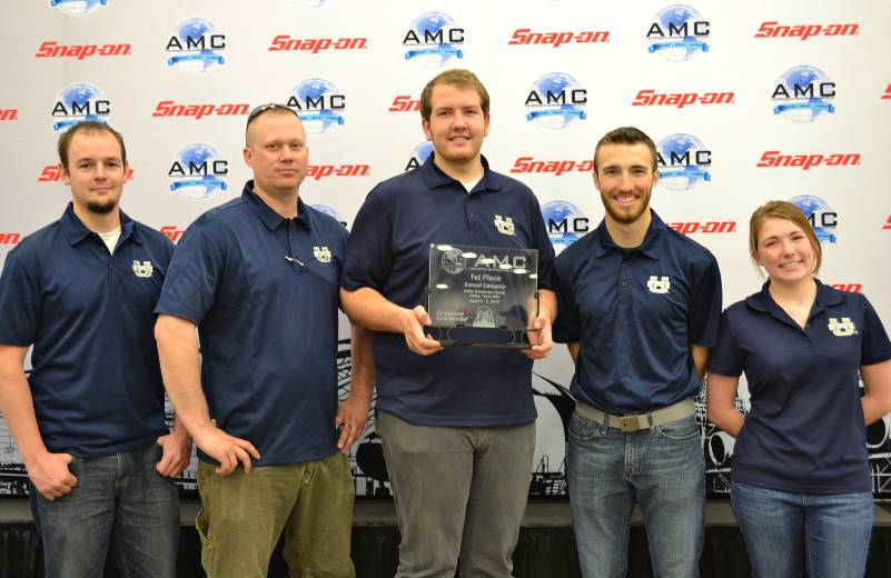 USU Aviation Maintenance Team Takes First Place at National Competition