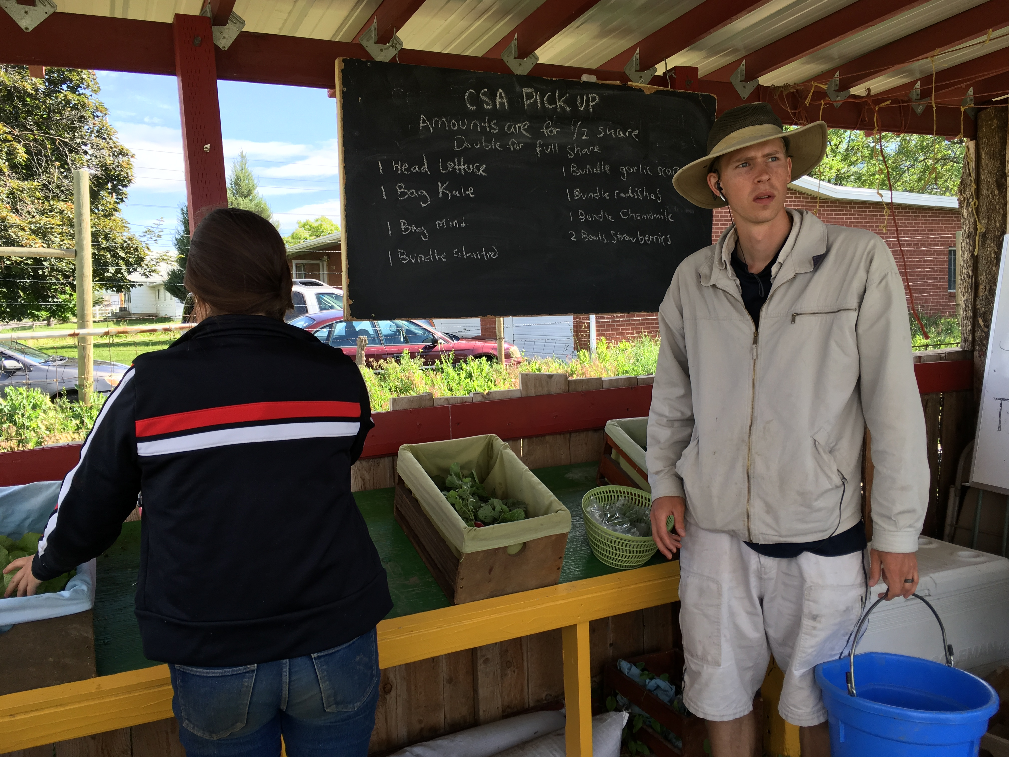 RESEARCH AT USU SHOWS BENEFITS OF COMMUNITY SUPPORTED AGRICULTUR