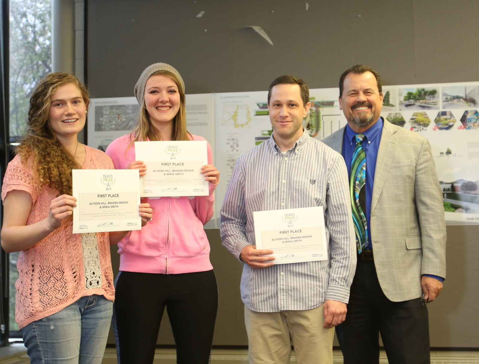 USU LAEP Students Receive Dean's Prize for Redesign Project