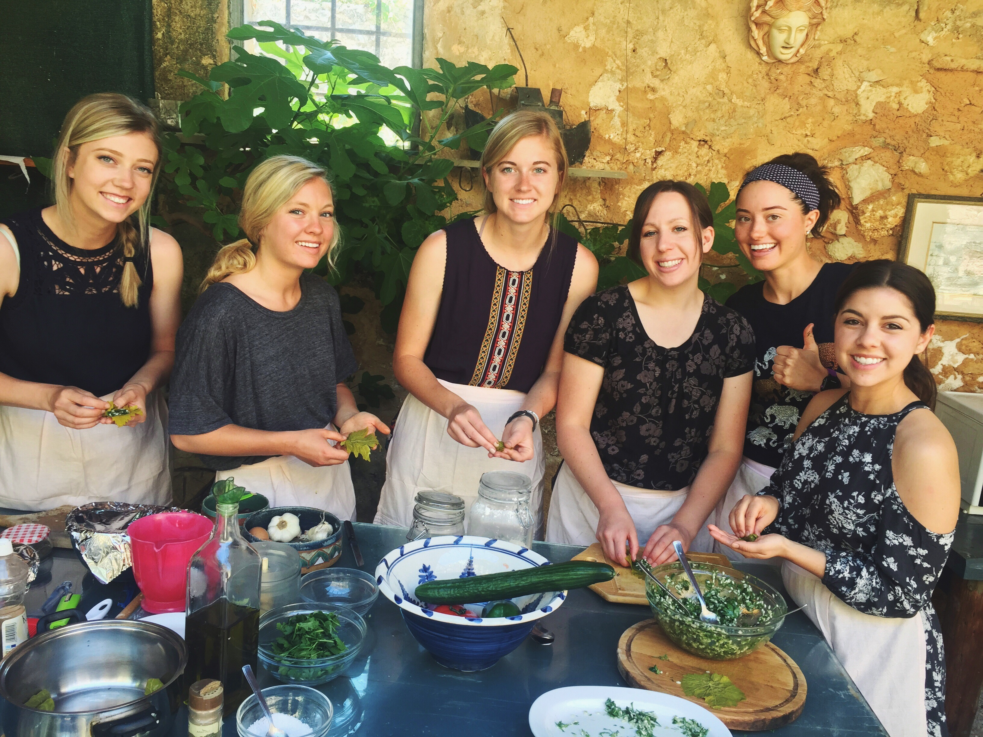 USU NUTRITION STUDENTS VISIT GREECE, LEARN HEALTHY LIFESTYLE PRACTICES