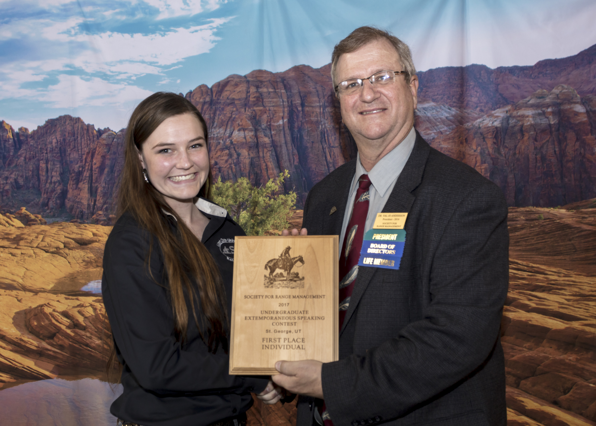CAAS Student Competes at 70th Annual Society for Range Management Conference