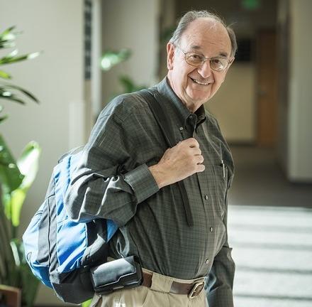 Utah State University Salt Lake Campus Graduates 82- Year-Old Student