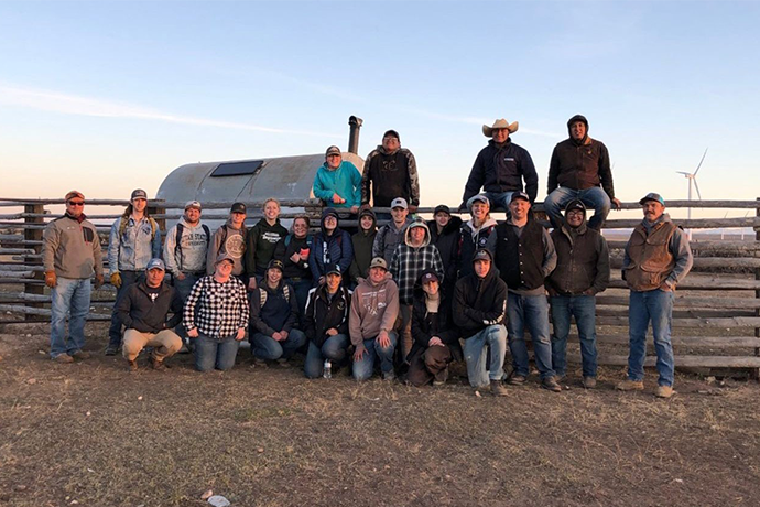 Sheep Day Tradition Continues for Animal Science Students