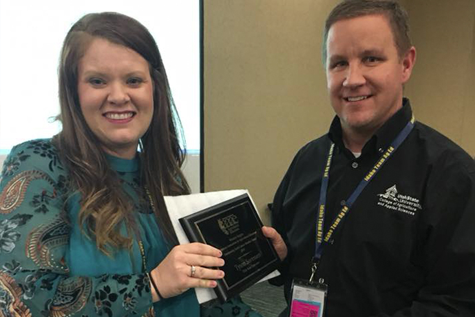 USU Agricultural Educator Honored for Outstanding Teaching