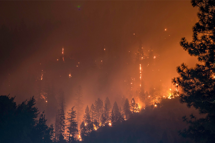 'Best Case' Goals for Climate Warming Could Still Result in Massive Wildfire Risk