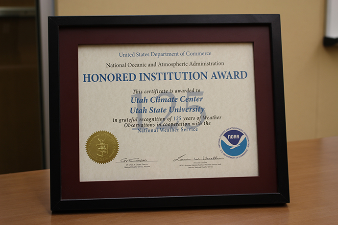 Climate Center Award