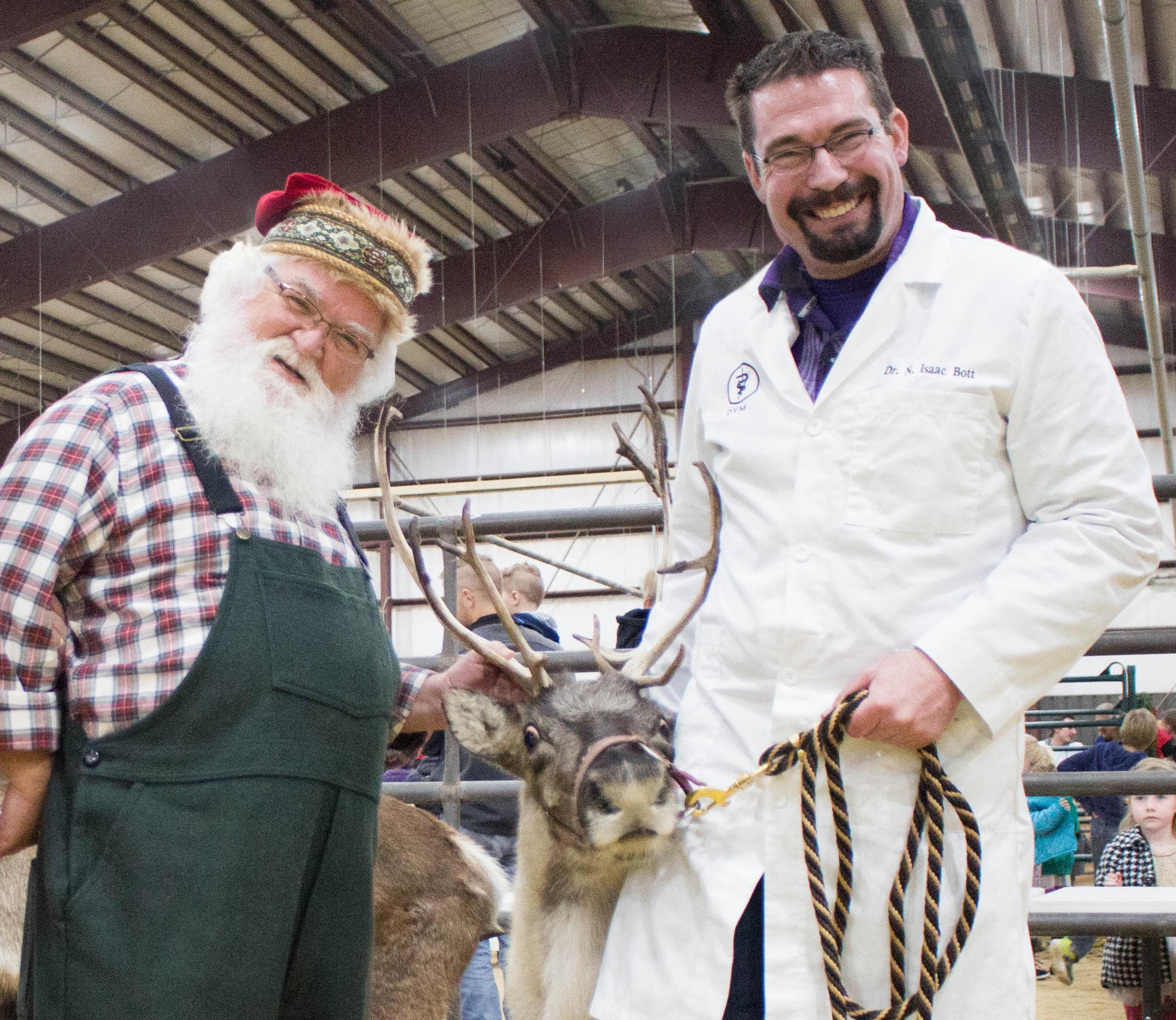 santa and doc