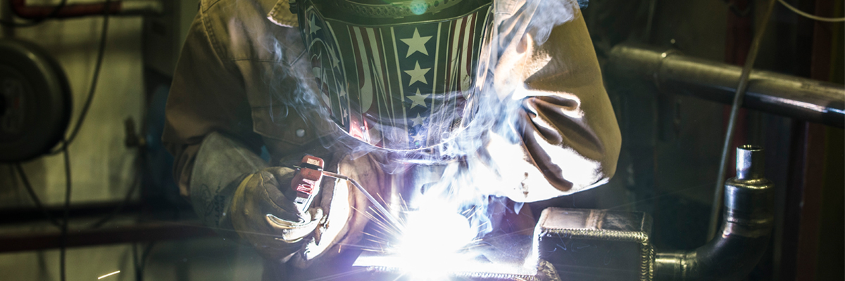 welding banner
