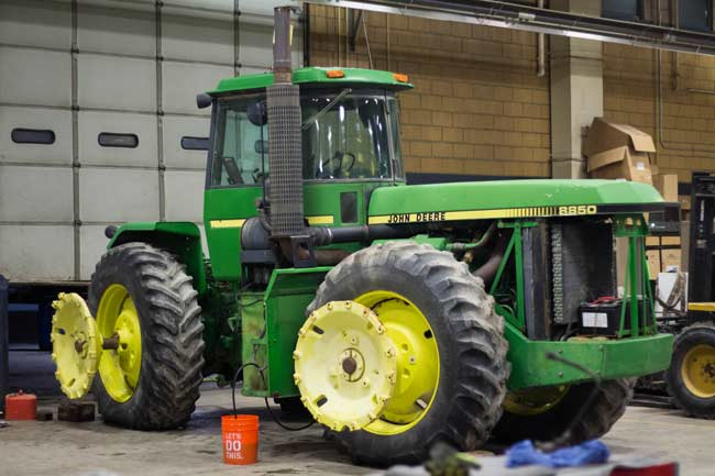 tractor donated