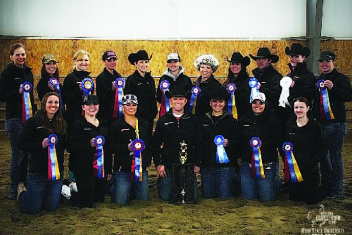 Western Equestrian Team